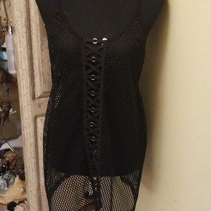 LF BSBW Mesh dress black